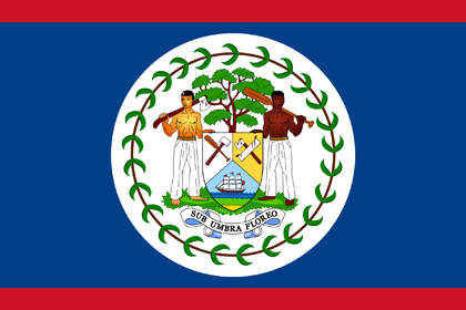 Flag of Belize-420by280